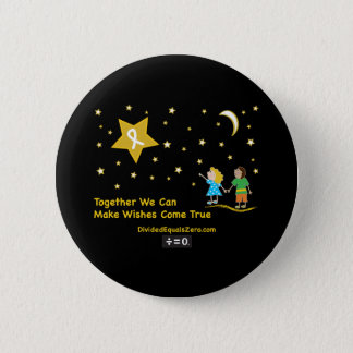 Wishes-Childhood Cancer Awareness 2 Inch Round Button