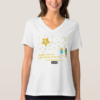 Wishes-Childhood Cancer Awareness T-Shirt