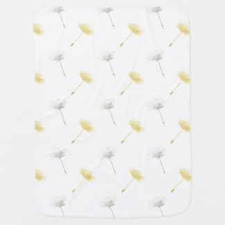 Wishes Dandelion Flowers Baby Blanket