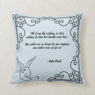 Wishes For Us Throw Pillow v1
