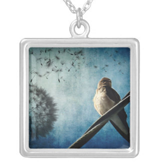 Wishes Silver Plated Necklace