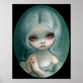 Wishful Thinking big eye art print Jasmine Becket