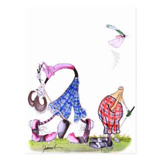 wishful thinking - golf, tony fernandes postcard