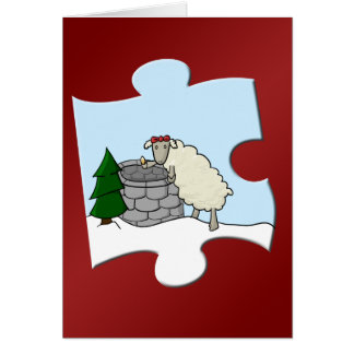 Wishing Ewe Piece Card
