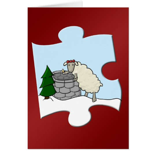 Wishing Ewe Piece Card