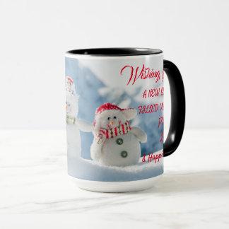 Wishing New Year Mug
