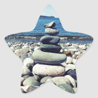 Wishing Rocks Star Sticker