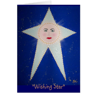 """Wishing Star"" - #1 Aida; RhubarbStreet Card"