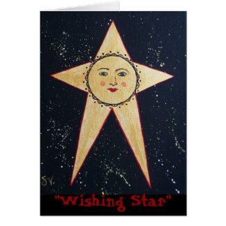 """Wishing Star""  #2 Bonita; RhubarbStreet Card"