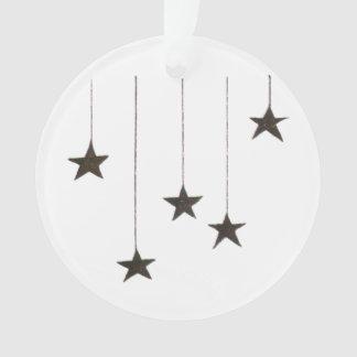 Wishing Star Christmas Tree Ornament