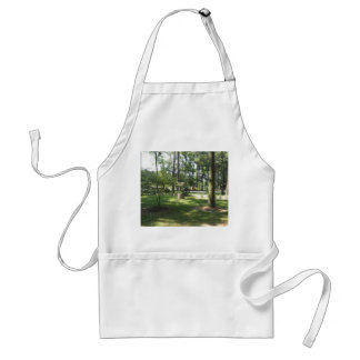 Wishing Well In The Park Standard Apron