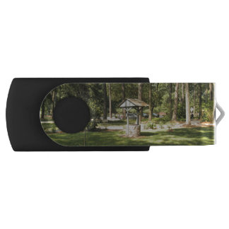 Wishing Well In The Park USB Flash Drive