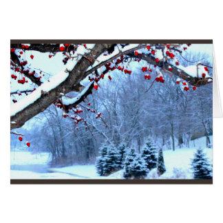 Wishing You A Beautiful Christmas Season Card