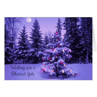 Wishing you a Blessed Yule Card