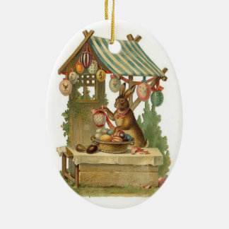 Wishing You a Happy Easter Ceramic Ornament