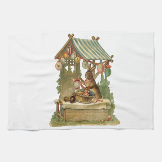 Wishing You a Happy Easter Kitchen Towel