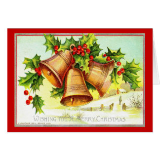 Wishing You a Merry Christmas 1911 Vintage Card