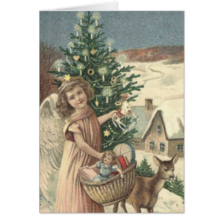 Wishing You a Merry Christmas and a Happy New Year Greeting Card