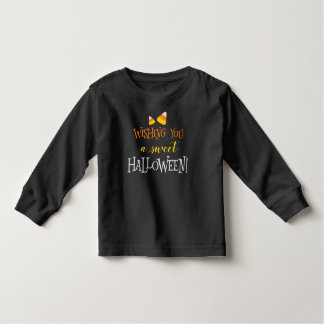 Wishing You A Sweet Halloween Toddler T-shirt