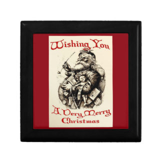 Wishing You A very Merry Christmas Jewelry Boxes