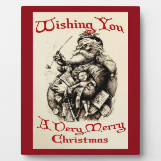 Wishing You A very Merry Christmas Plaque