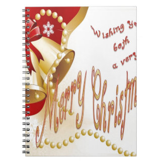 Wishing You Both A Very Merry Christmas Notebooks