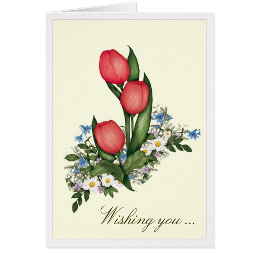 Wishing you- Mother's Day Card