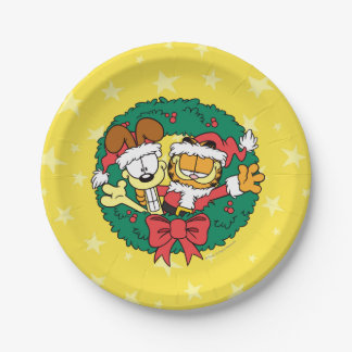 Wishing You the Best of the Season 7 Inch Paper Plate