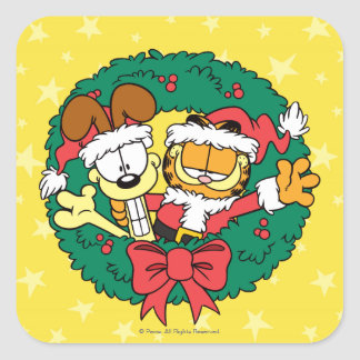 Wishing You the Best of the Season Square Sticker