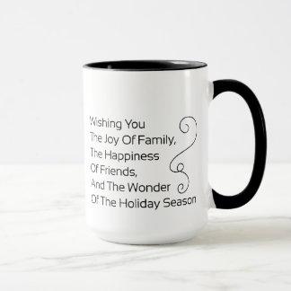 Wishing you the Joy of Family Mug