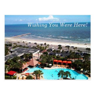Wishing You Were Here Postcard