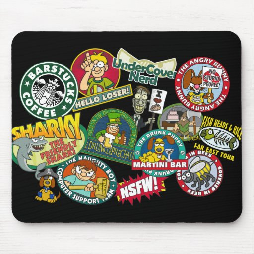 Wislander Collage Mousepad