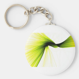wisp splash basic round button keychain