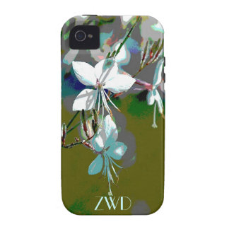 Wispy Floral iPhone 4 Case-Mate Case