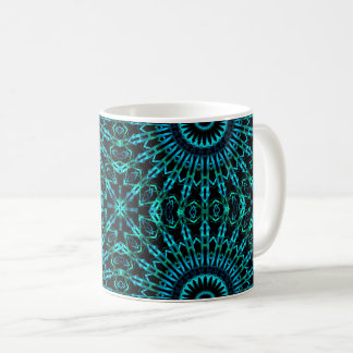 Wispy Looking Glass Cross Coffee Mug