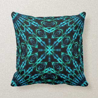 Wispy Looking Glass Cross Throw Pillow