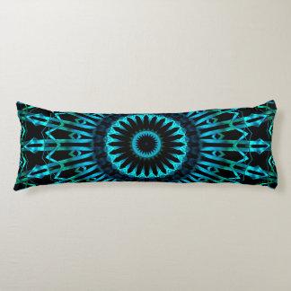 Wispy Looking Glass Mandala 2 Body Pillow