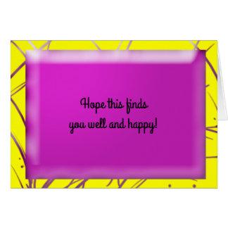 Wispy Pink Card