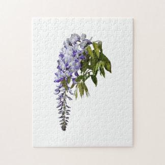 Wisteria and Leaves Jigsaw Puzzle