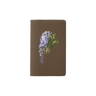 Wisteria and Leaves Pocket Moleskine Notebook
