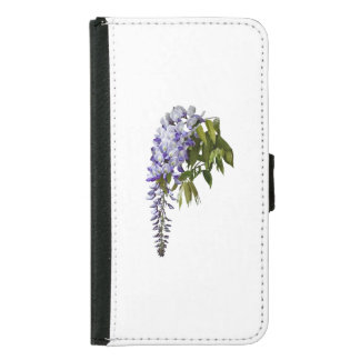 Wisteria and Leaves Samsung Galaxy S5 Wallet Case