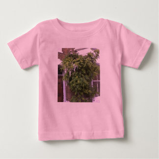 Wisteria and Roses Baby T-Shirt