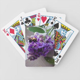 Wisteria & Bee Bicycle Playing Cards
