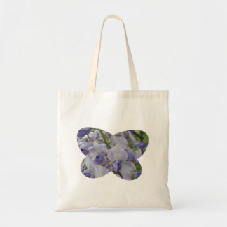 Wisteria Butterfly Tote Bag