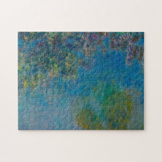 Wisteria by Claude Monet Puzzles