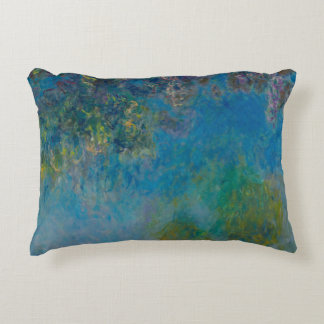 Wisteria Claude Monet Accent Pillow