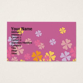 Wisteria Floral Design Business Card