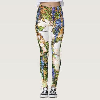 Wisteria Flower Vine All Over Print Leggings