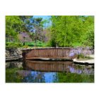 Wisteria in Bloom at Loose Park in Kansas City Postcard