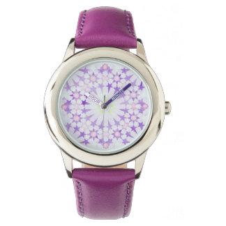 'Wisteria' Islamic geometry wristwatch